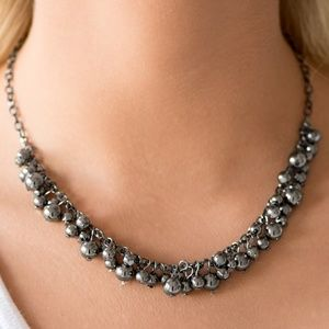 Paparazzi 4 Piece Black Necklace set
